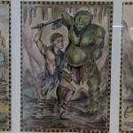 """Ілюстрація """"Пригоди Одисея"""", Чуйкова Валерія, 15 р."""