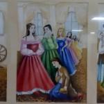 """Ілюстрація до твору """"Вечори на хуторі"""", Злобіна Євгенія, 15 р."""
