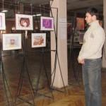 Выставка талантливой краматорчанки