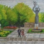 """""""Возле вечного огня"""" Юрченко Мария, 13 лет"""