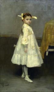 Мурашко Дівчинка біля столу 1901-02