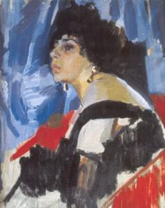 Мурашко Жінка в чорному1917