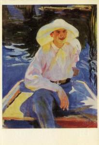 Мурашко На кормі. Портрет Жоржа Мурашка 1906