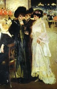 Мурашко Паризська кав`ярня 1903-r