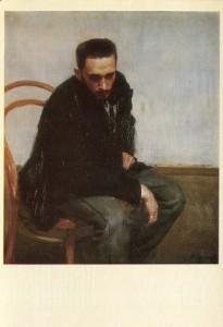 Мурашко Портрет художника М. Петрова