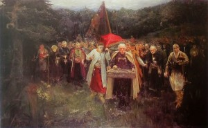 Мурашко Похорон кошового. 1900
