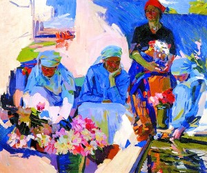 Мурашко Продавщиці квітів 1917