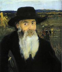 Мурашко Старий учитель. Портрет худ. М.І. Мурашка1906