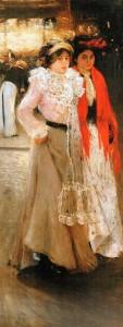 Мурашко У кав`ярні 1902-03