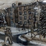 """""""Зима в городе"""" - Комлева Елизавета, 15 лет"""
