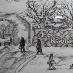 """""""Зимняя прогулка"""" - Хромченко Константин, 14 лет"""