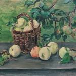 Яблоки на окне