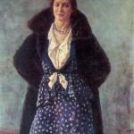 Портрет артистки Ангелины Осиповны Степановой